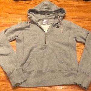 Nike Women's half-zip hoodie